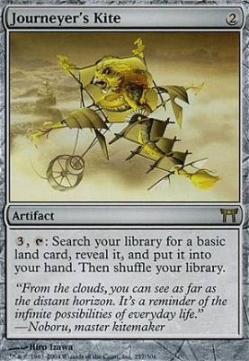 Champions of Kamigawa Foil: Journeyer's Kite