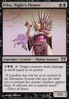 Champions of Kamigawa: Kiku, Night's Flower
