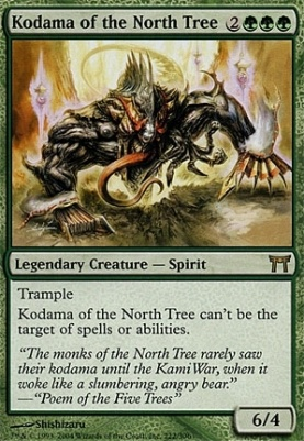 Champions of Kamigawa: Kodama of the North Tree