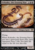 Champions of Kamigawa Foil: Kokusho, the Evening Star