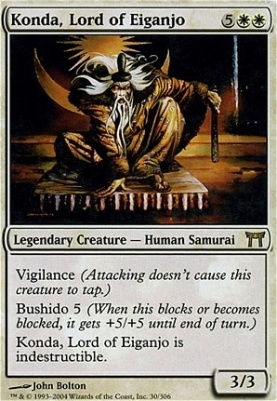 Champions of Kamigawa: Konda, Lord of Eiganjo