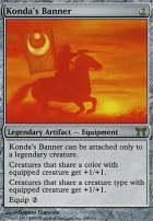 Champions of Kamigawa: Konda's Banner