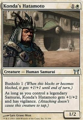 Champions of Kamigawa: Konda's Hatamoto