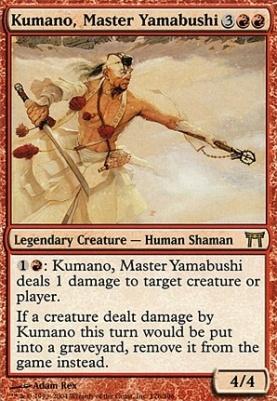 Champions of Kamigawa: Kumano, Master Yamabushi