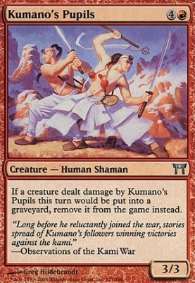Champions of Kamigawa Foil: Kumano's Pupils