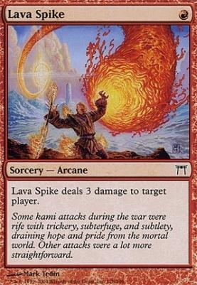 Champions of Kamigawa: Lava Spike