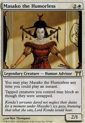 Champions of Kamigawa: Masako the Humorless