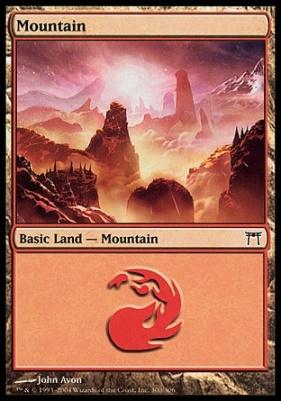 Champions of Kamigawa: Mountain (300 B)