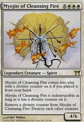 Champions of Kamigawa: Myojin of Cleansing Fire