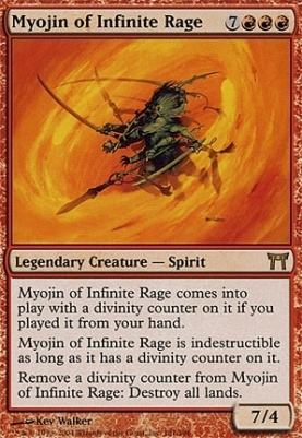 Champions of Kamigawa: Myojin of Infinite Rage