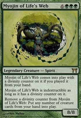 Champions of Kamigawa: Myojin of Life's Web