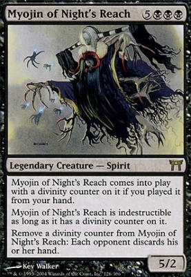 Champions of Kamigawa: Myojin of Night's Reach