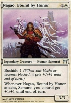 Champions of Kamigawa: Nagao, Bound by Honor