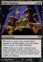 Champions of Kamigawa: Night Dealings
