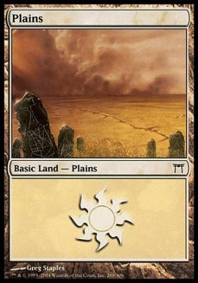 Champions of Kamigawa Foil: Plains (289 C)