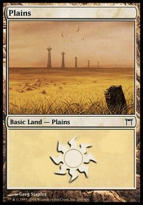 Champions of Kamigawa: Plains (290 D)