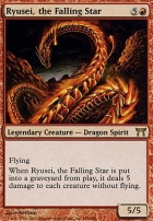 Champions of Kamigawa Foil: Ryusei, the Falling Star