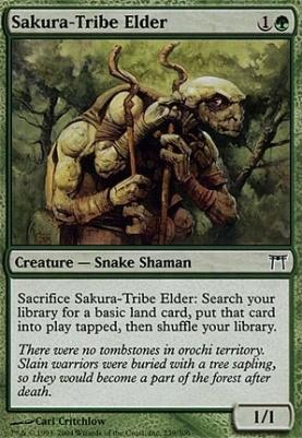 Champions of Kamigawa: Sakura-Tribe Elder
