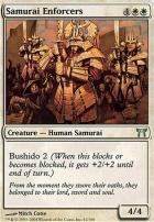 Champions of Kamigawa Foil: Samurai Enforcers