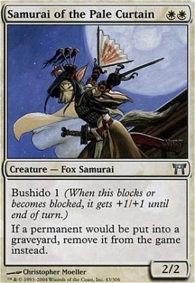Champions of Kamigawa: Samurai of the Pale Curtain