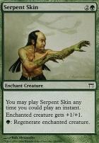Champions of Kamigawa Foil: Serpent Skin