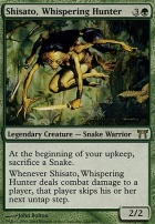 Champions of Kamigawa: Shisato, Whispering Hunter