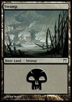 Champions of Kamigawa: Swamp (295 A)