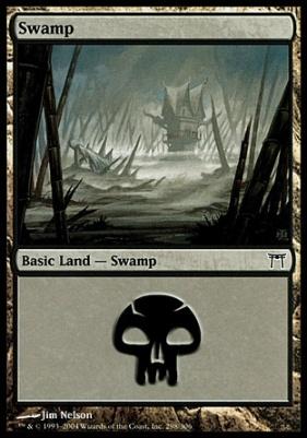 Champions of Kamigawa: Swamp (298 D)