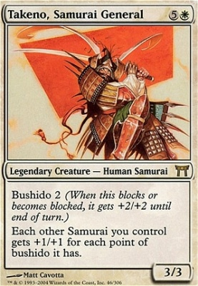 Champions of Kamigawa: Takeno, Samurai General