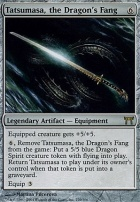 Champions of Kamigawa: Tatsumasa, the Dragon's Fang