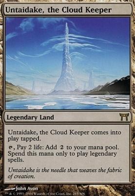 Champions of Kamigawa Foil: Untaidake, the Cloud Keeper