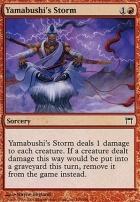 Champions of Kamigawa Foil: Yamabushi's Storm