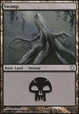 Coldsnap Theme Decks: Swamp (377 C)