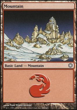 Coldsnap Theme Decks: Mountain (380 C)