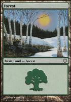 Coldsnap Theme Decks: Forest (382 B)