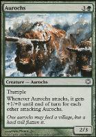 Coldsnap Theme Decks: Aurochs