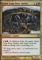 Coldsnap Theme Decks: Giant Trap Door Spider