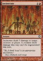 Coldsnap Theme Decks: Incinerate