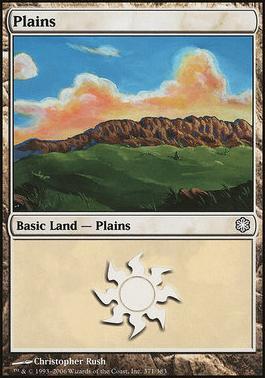 Coldsnap Theme Decks: Plains (371 C)