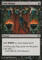 Coldsnap Theme Decks: Dark Ritual