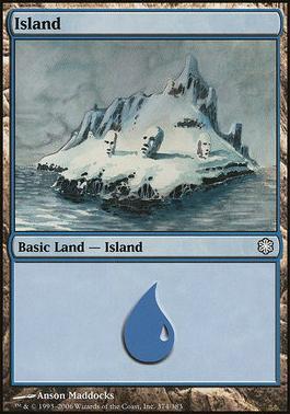 Coldsnap Theme Decks: Island (374 C)
