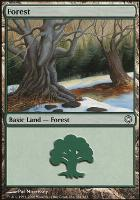 Coldsnap Theme Decks: Forest (381 A)