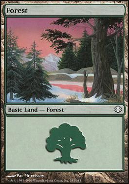 Coldsnap Theme Decks: Forest (383 C)