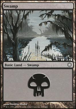 Coldsnap Theme Decks: Swamp (375 A)