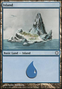 Coldsnap Theme Decks: Island (373 B)