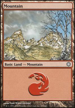 Coldsnap Theme Decks: Mountain (379 B)