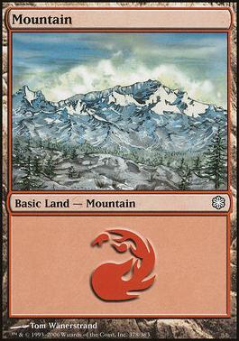 Coldsnap Theme Decks: Mountain (378 A)