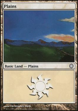 Coldsnap Theme Decks: Plains (370 B)