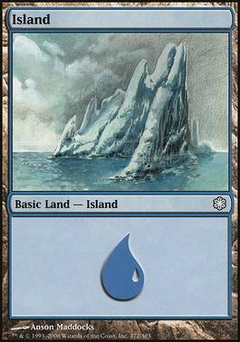 Coldsnap Theme Decks: Island (372 A)