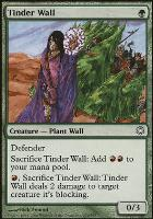 Coldsnap Theme Decks: Tinder Wall